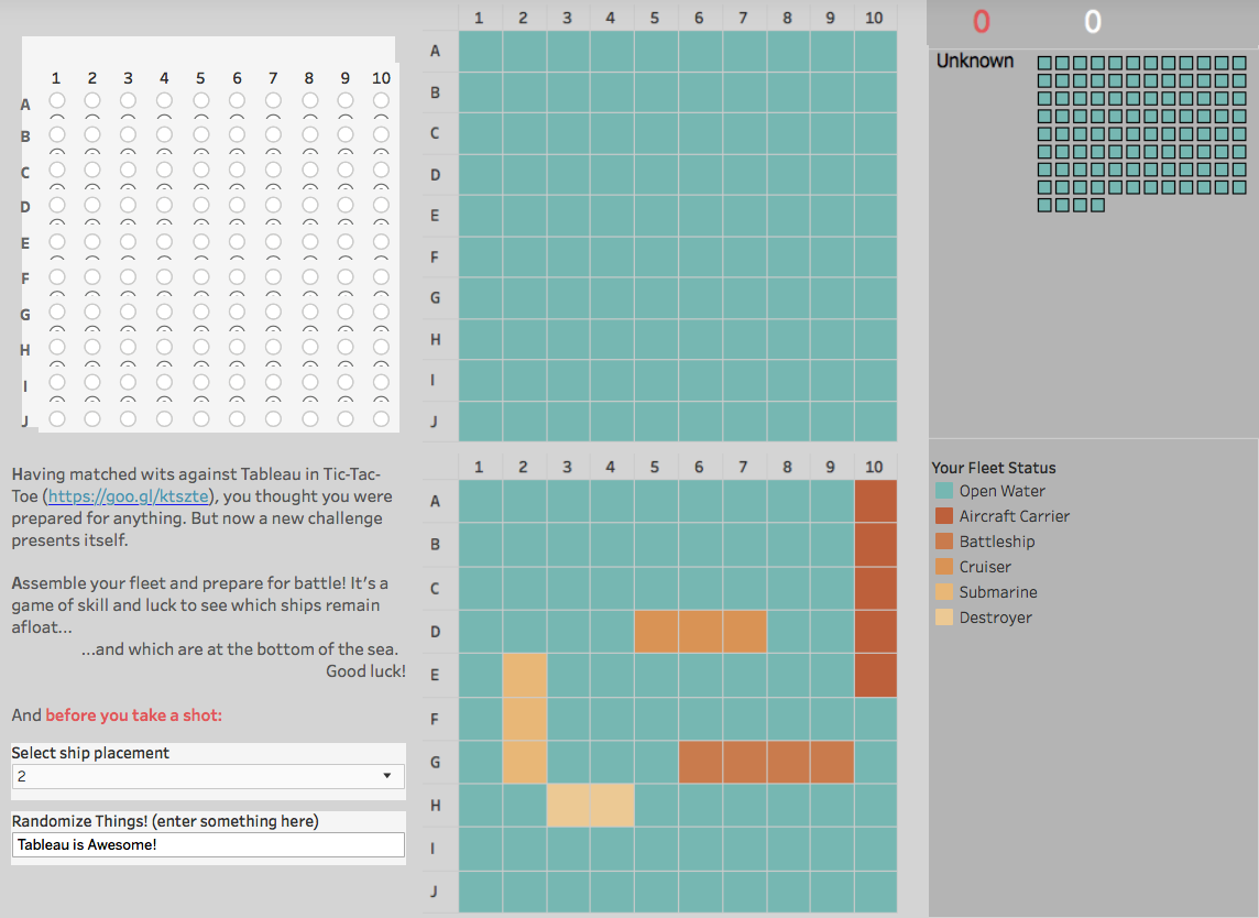Battlefield Tableau Visualisation you can play with