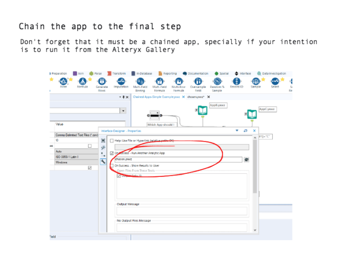 Alteryx Analytic App