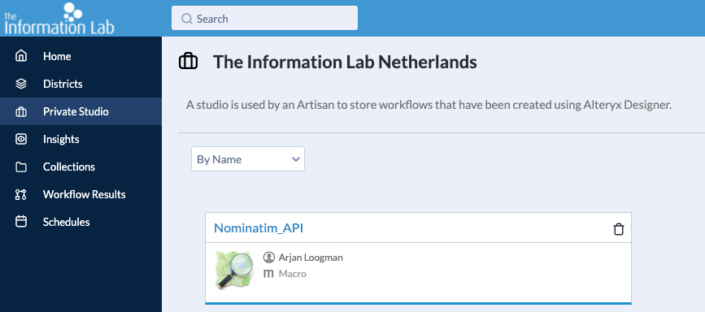 Sharing insights in Alteryx with a Macro