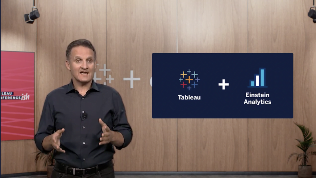 Adam Selipsky kicking off Tableau Conference 2020