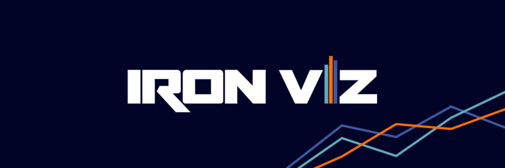 Iron Viz is also a must see of the Tableau Conference Sessions